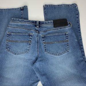 Vintage Express Flare Leg Sandblast Jeans 5/6 S
